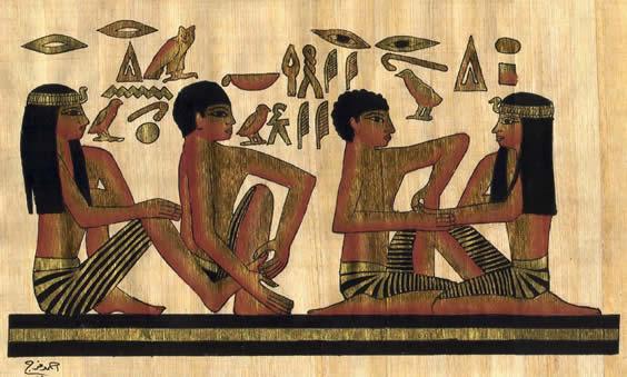 massagem no antigo egito